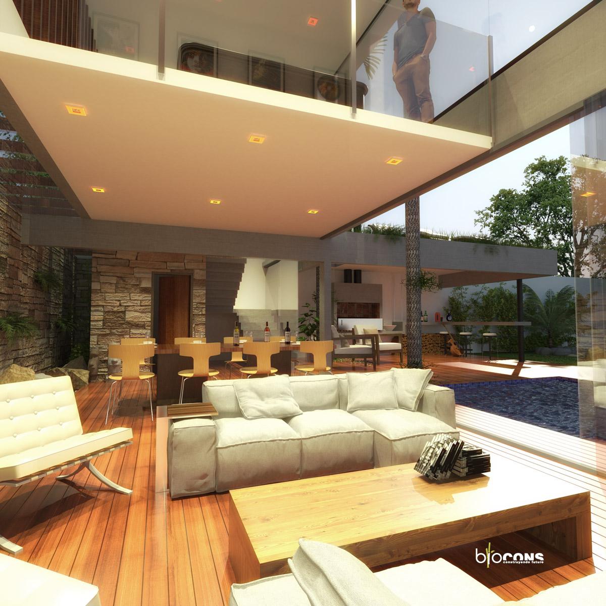Reforma y ampliaci n de quincho para show room en vivienda for Precio de reforma por m2