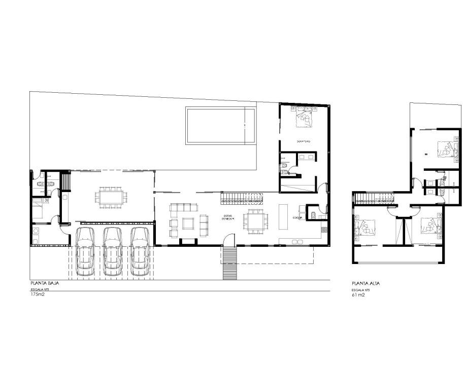 planos de planta vivienda sanber casa